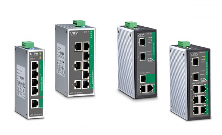 Nuevos Switches Ethernet Industriales de VIPA