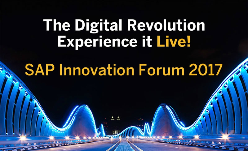 SAP Innovation Forum 2017 en Madrid