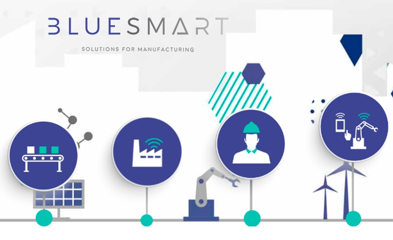 Bluesmart : Optimización de la gestión en fábrica en Advanced Factories