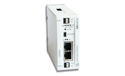 SmartWire-DT habla PROFINET con el Real-Time Hilscher Gateway Ethernet