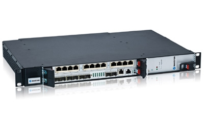 Switches 10 Gigabit Ethernet rugerizados para montaje en rack