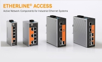 Switches y cables robustos de Ethernet para redes industriales