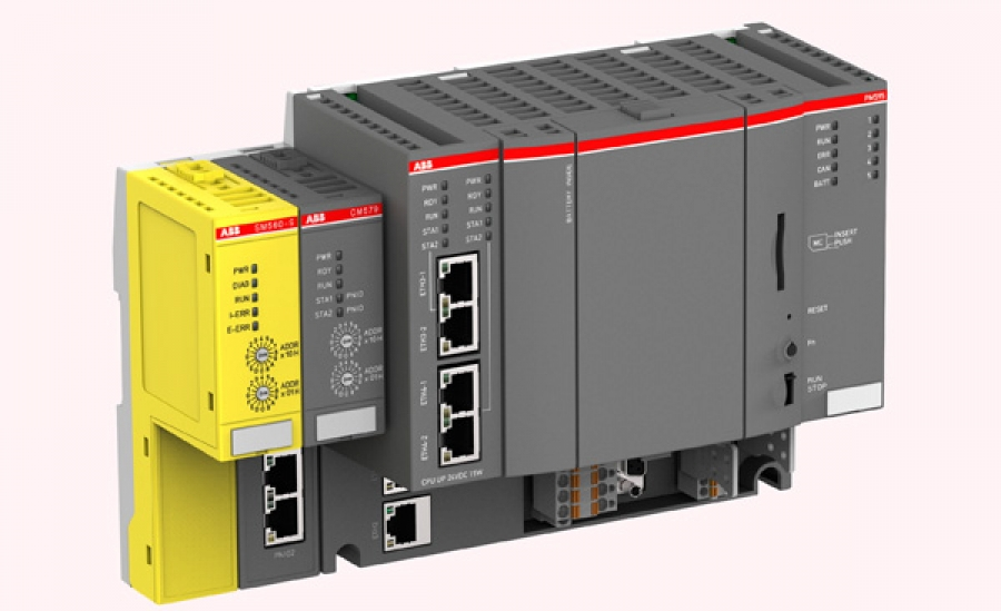 "AC500 PM595 ""Machinery Controller"" de ABB"
