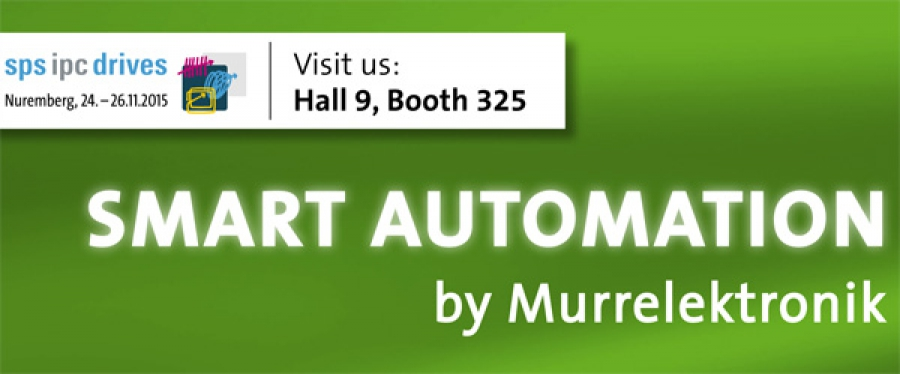 Smart Automation de Murrelektronik en la SPS IPC Drives