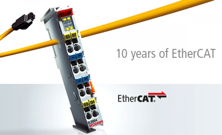 EtherCAT Technology Group  celebra sus 10 años en la SPS IPC Drives 2013