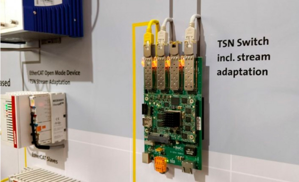 SoC-e presenta el switch IP TSN con soporte de Ethercat