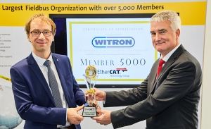 WITRON miembro 5000 de EtherCAT Technology Group