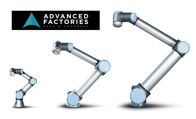 Robótica colaborativa de Universal Robots en Advanced Factories