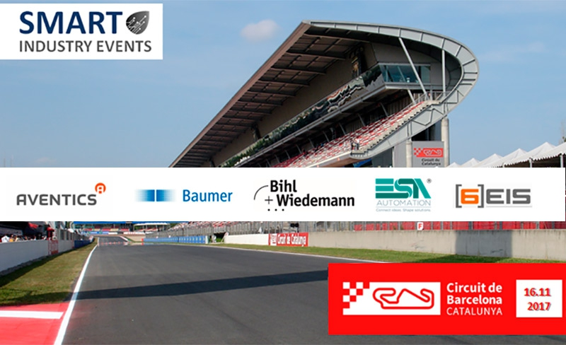 Smart Industry Events celebra un Workshop en el  Circuito de Montmeló