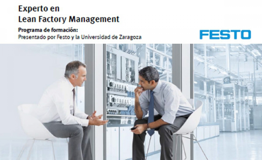 Presentacion de Postgrado Lean Factory Management en Barcelona