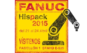 FANUC en Hispack, robótica aplicada al sector del packaging
