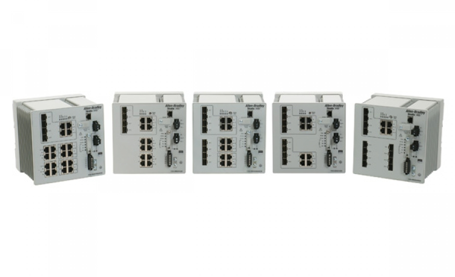 "Switche industrial Stratix 5400 ""todo-gigabit"""