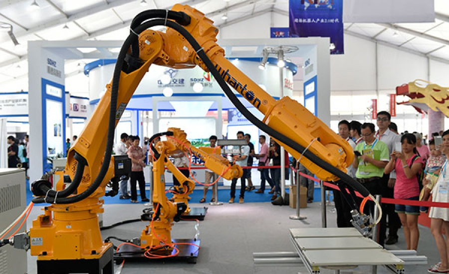 Robotica Industrial en China crecerá un 150%