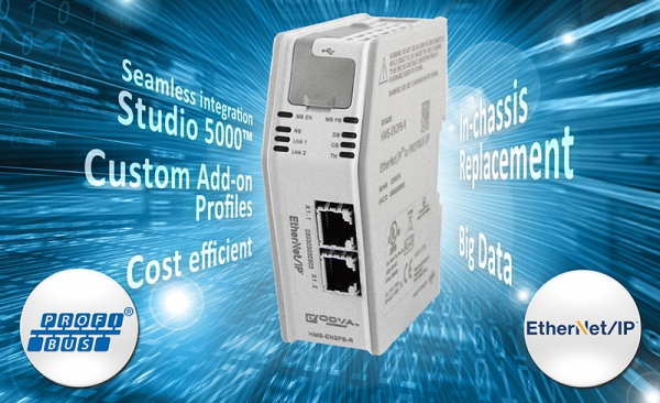 Nuevo Linking Device de EtherNet/IP a PROFIBUS DP