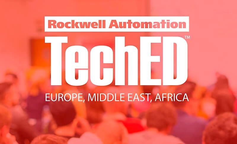 Éxito de TechED de Rockwell Automation