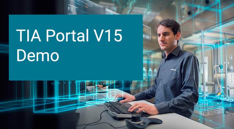TIA Portal STEP 7 V15 y WinCC V15 DEMO (Trial) - infoPLC