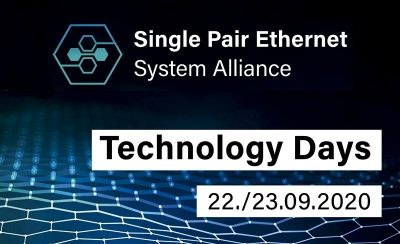En septiembre llegan los Single Pair Ethernet Technology Days