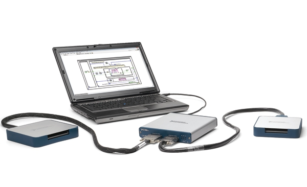 La arquitectura NI LabVIEW RIO incorpora USB Plug and Play