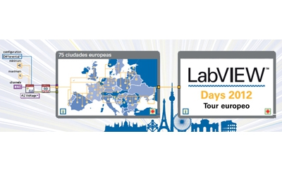 LabVIEW Days 2012 de National Instruments realiza una gira por 75 ciudades europeas