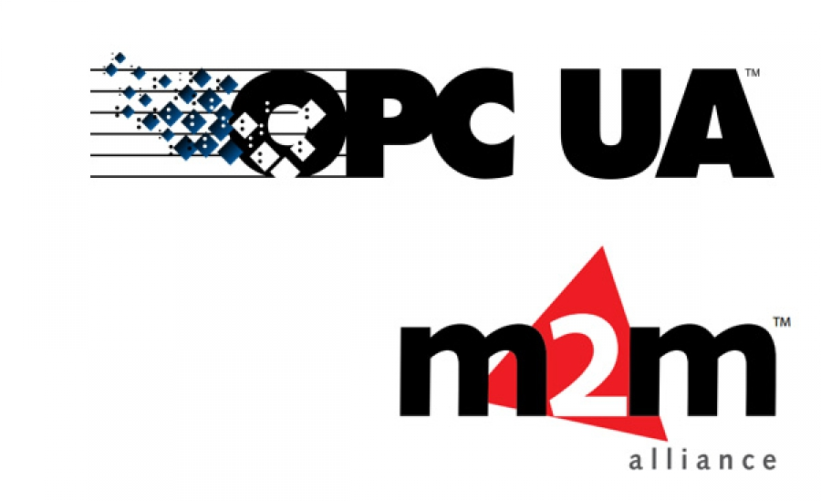 Colaboración entre OPC Foundation  y M2M Alliance