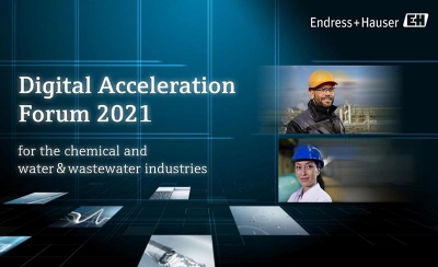 Endress+Hauser convoca al Digital Acceleration Forum