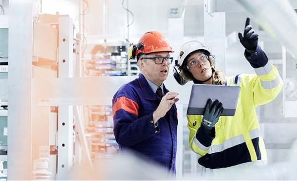 La fábrica del futuro de ABB se muestra en Advanced Factories 2018