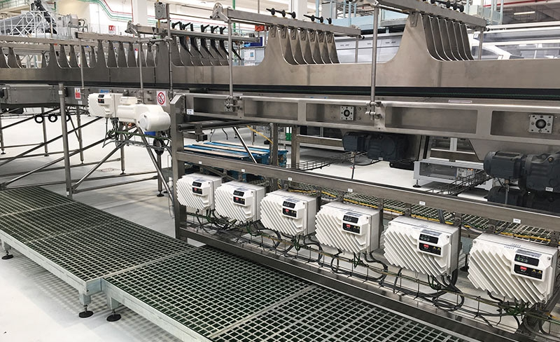 VLT FlexConcept en la Smart Factory de Nestlé Waters