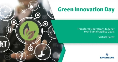 Green Innovation Day de Emerson Automation