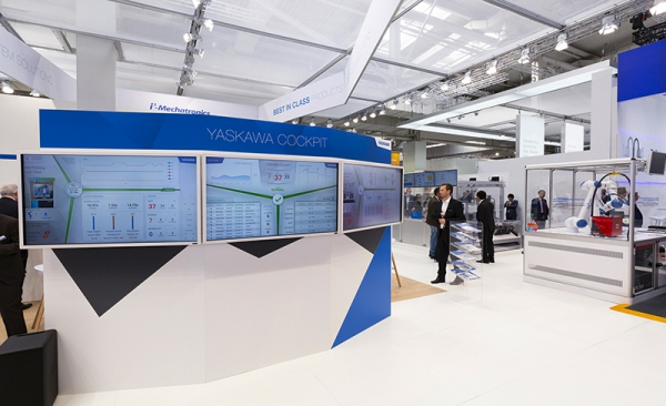 Soluciones Yaskawa para la Industria 4.0 en Advanced Factories
