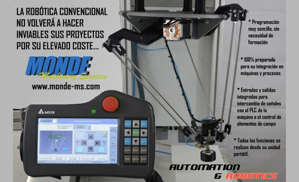 MONDE machinery services presenta sus novedades en Advanced Factories