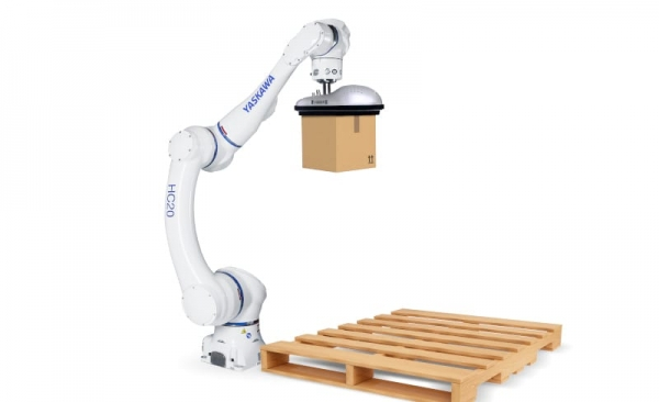Cobot HC20 para packaging y paletizado