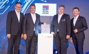 Rittal ha sido distinguido con el premio Bosch Global Supplier Award
