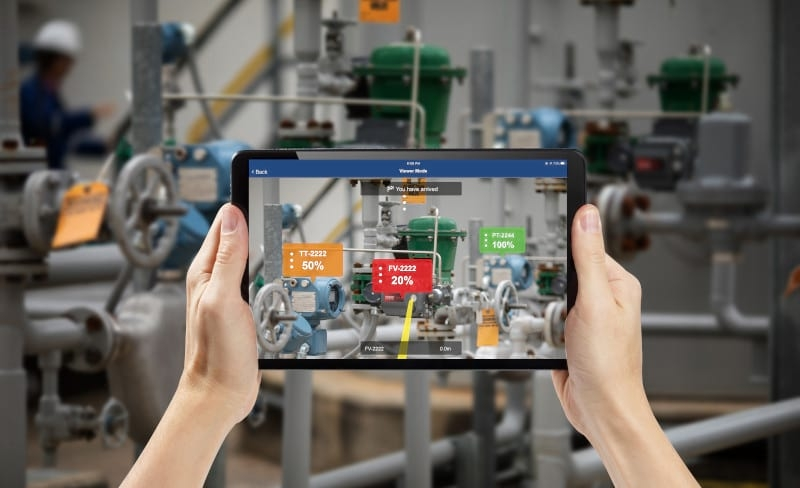 Emerson integra la realidad aumentada al software Plantweb Optics