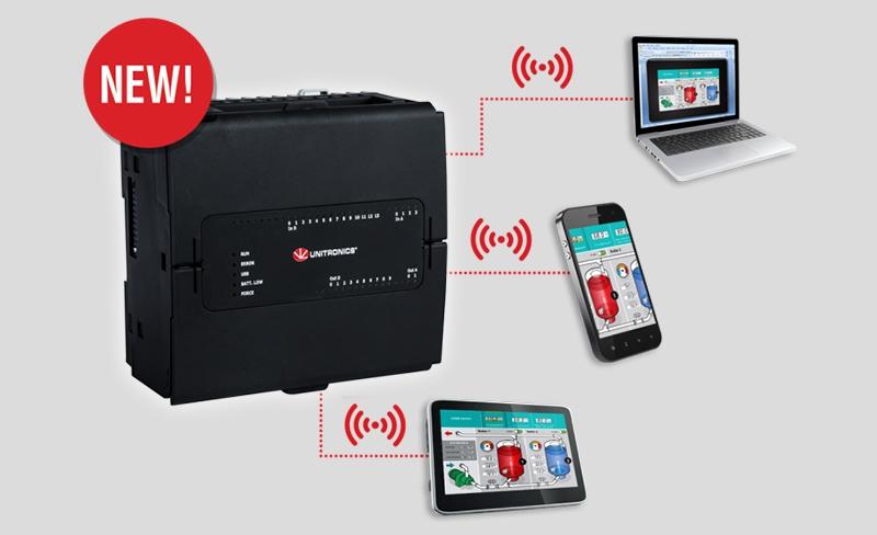 Nuevo PLC UniStream de Unitronics con Virtual HMI